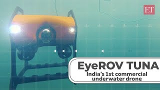 EyeROV Tuna: From defence to oil & gas sector, a sea of opportunities for this underwater drone