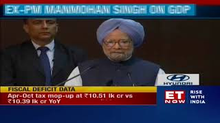 4.5% GDP growth rate unacceptable, worrisome: Manmohan Singh