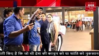 सारा अली खान से सेल्फी लेने के बहाने की गंदी हरकत THE NEWS INDIA