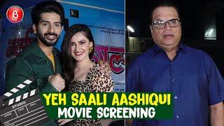 Yeh Saali Aashiqui Special Screening | Vardhan Puri | Shivaleeka Oberoi | Ramesh Taurani