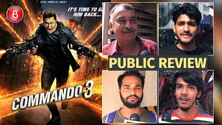 Commando 3 Public Review | First Day First Show | Vidyut Jammwal | Adah Sharma | Angira Dhar