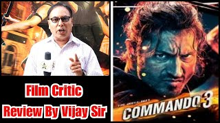 Commando 3 Review By Film Critic Vijay Sir