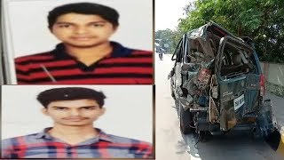 2 Students Died In An Car Accident At Attapur Pillar No 221 | @ SACH NEWS |