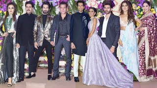 Sooraj Barjatya's Son Deevansh Barjatya Wedding Reception | Salman, Shahid, Kartik, Madhuri And More