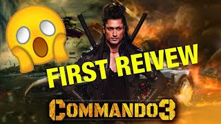 Commando 3 | First Movie Review | Vidyut Jammwal, Adh Sharma | Satya Bhanja