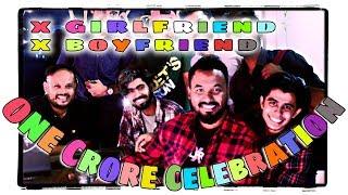 X Boyfriend & X Girlfriend 1 crore Views Celebration!! ???????? CINEMAWALA YouTube Party Live