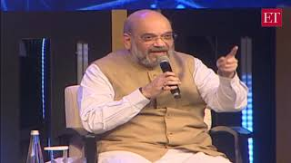 Kashmir is normal, visit yourself to know: Amit Shah to India Inc   ET Awards 2019