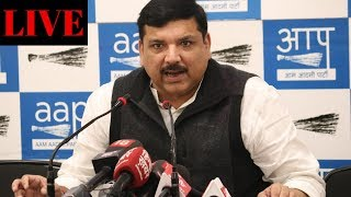 Senior AAP leader & Rajya Sabha MP Sanjay Singh's IMPORTANT PRESS CONFERENCE on onion prices