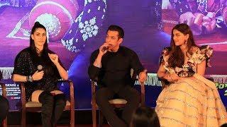 Munna Badnaam Hua Song Launch | FULL VIDEO | Salman Khan, Saiee, Sonakshi, Warina