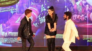 Tik Tok Stars Lucky & Faizal DANCE With Warina | Munna Badnaam Hua Song Launch | Dabangg 3 | Salman