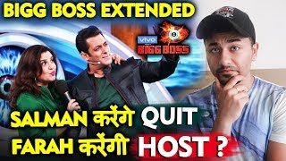 Bigg Boss 13 | Farah Khan To Replace Salman Khan In Extended Bigg Boss Season? | BB 13 Latest Update