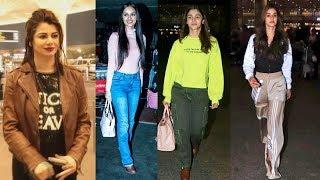 Alia Bhatt,  Disha Patani, Manushi Chhillar And Many Spotted  At Airport