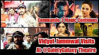 Vidyut Jammwal Surprising Entry At Gaiety Galaxy Theatre To Watch Audience Reaction On Commando 3