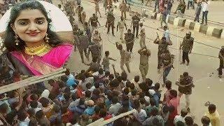 Priyanka Reddy Ke Qatilo Ko 14 Din Ki Remand | Protest Mein Police Ka Lathi Charge | @ SACH NEWS |