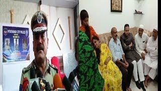 Cp Anjani Kumar On Dial 100 | Rahmath Baig At Priyanka Reddy's House | @ SACH NEWS |