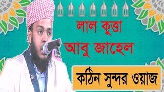 লাল কুত্তা আবু জাহেল । বাংলা নতুন ওয়াজ । Lal Kutta Abu Jahel | Bangla New Waz Mahfil