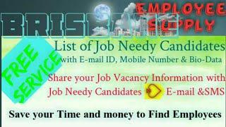BRISBANE      Employee SUPPLY ☆ Post your Job Vacancy 》Recruitment Advertisement ◇ Job Information ☆