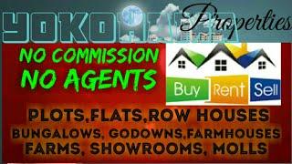 YOKOHAMA     PROPERTIES ☆ Sell •Buy •Rent ☆ Flats~Plots~Bungalows~Row Houses~Shop $Real estate ☆ ●□