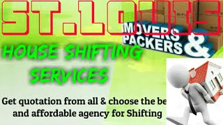 ST LOUIS      Packers & Movers 》House Shifting Services ♡Safe and Secure Service ☆near me 》Tips  ♤