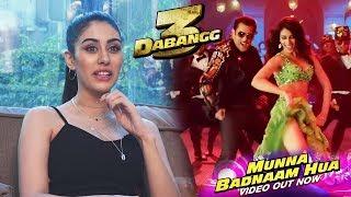 Dabangg 3 - Munna Badnam Hua Song   Warina Hussain Interview   Salman Khan