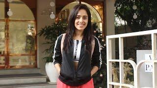 Nushrat Bharucha Spotted The White Door Spa At Bandra
