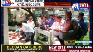 JOURNALISTS CANDLE RALLY FOR DR PRIYANKA REDDY AT CLOCK TOWER SECUNDERABAD TS