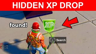 Search the XP Drop Hidden in the Chaos Rising Loading Screen Location Fortnite