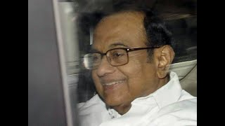 Former FM  P Chidambaram walks out of Tihar Jail after 106 days