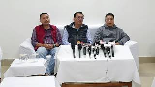 Press conference of Dy CM Chowna Mein on Namsai imbroglio