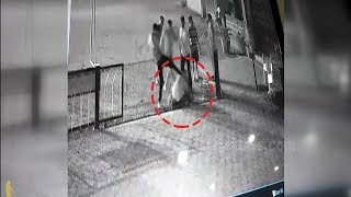Gang War Much? Security Guard Brutally Assaulted By 5 Men!
