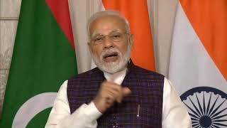 PM Modi & Maldives President jointly launch development projects via VC