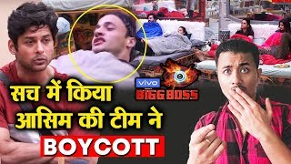 Bigg Boss 13 | Asim And His Team BOYCOTT Siddharth's Captaincy | BB 13 Latest Video