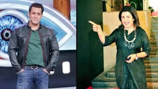 Farah Khan to replace Salman Khan as host with 5 weeks extension of Bigg Boss 13