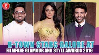 Kartik Aaryan, Kiara Advani & Ayushmann's at Filmfare Glamour And Style Awards
