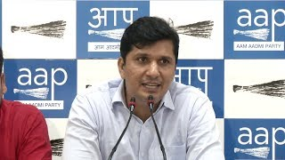 Saurabh Bhardwaj address a Press Conference on the financial mess in MCD as per CAG Audit report