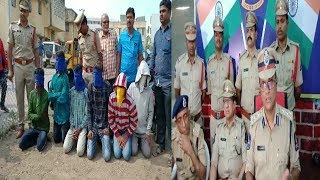 6 Robbers Got Arrested By Golconda Police | DCP Speaks | @ SACH NEWS |