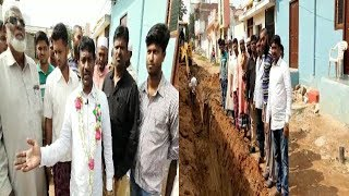 6 Laks Rupees Drainage Work Sension By Mla Sabita Indra Reddy In Jalpally | @ SACH NEWS |