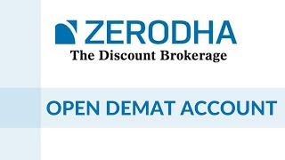 How to open Demat Account with Zerodha?