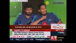 Finale of NTPC Electron Quiz - 2019, as telecast on ETNow
