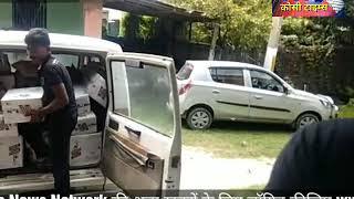 मधेपुरा में शराब से लदी ट्रक को ग्रामीणों ने लूटा, पुलिस कर रही है छापेमारी