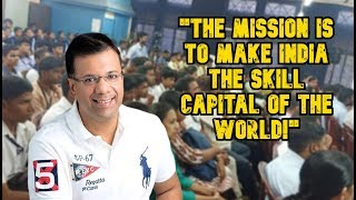 """Mission To Make India World's Skill Capital!'"", Taluka-Wise Initiative By Skill Development Dept"
