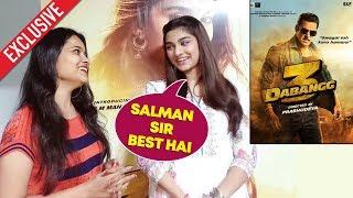 Dabangg 3 | Saiee Manjrekar Exclusive Interview | Salman Khan | Sonakshi Sinha | Prabhu Deva