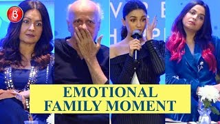 Alia Bhatt, Pooja Bhatt share emotional stories at Shaheen Bhatt's book launch