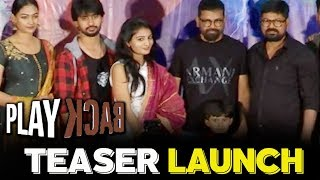 Play Back Movie Teaser Launch - Bhavani HD Movies