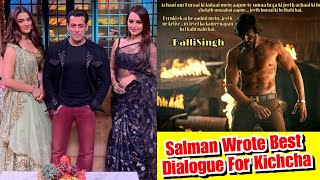 Salman Khan Wrote Best Dialogue Of Dabangg 3 For Kichcha Sudeep And I Loved It