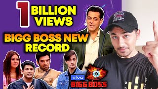 Bigg Boss 13 SETS NEW RECORD | 1 BILLION Views | BB 13 Latest Video