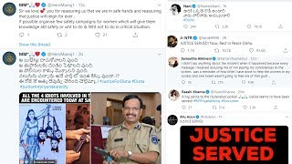 Manchu Manoj, Allu Arjun, Jr Ntr, Samantha And Many Celebrities Reaction On Disha