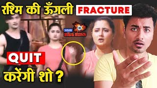 Bigg Boss 13 | Rashmi Desai's FINGER Fractured In Task | To QUIT The Show? | BB 13 Latest Video