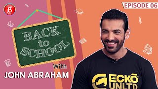 John Abraham Confesses About Crushing On His Teacher