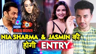 Bigg Boss 13 | Nia Sharma And Jasmin NAAGIN 4 Promotion On Weekend Ka Vaar | BB 13 Video